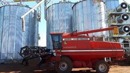 Colheitadeira Massey Ferguson 6855 hydro