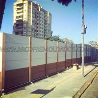 Muro pre moldado de concreto