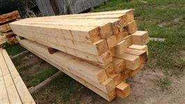 Madeira de pinos serrada