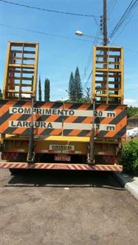 Carreta prancha 2015 vende ou troca por mini carregadeira.