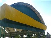 COBERTURA DE QUADRA POLIESPORTIVA - 516 m²