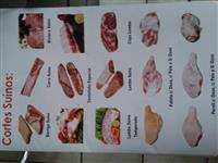 Carnes Suínas e Miúdos + Linguiças e Defumados Diversos - WhatsApp 62-9944-9162
