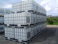 Contêiner ibc de 1000 litros limpos ou sujo