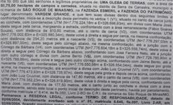 Arrendamento para produção agrícola - São Roque de Minas
