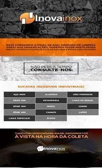 Gerenciamos e Comercializamos Sucata de Aço Inox e Metais não Ferrosos