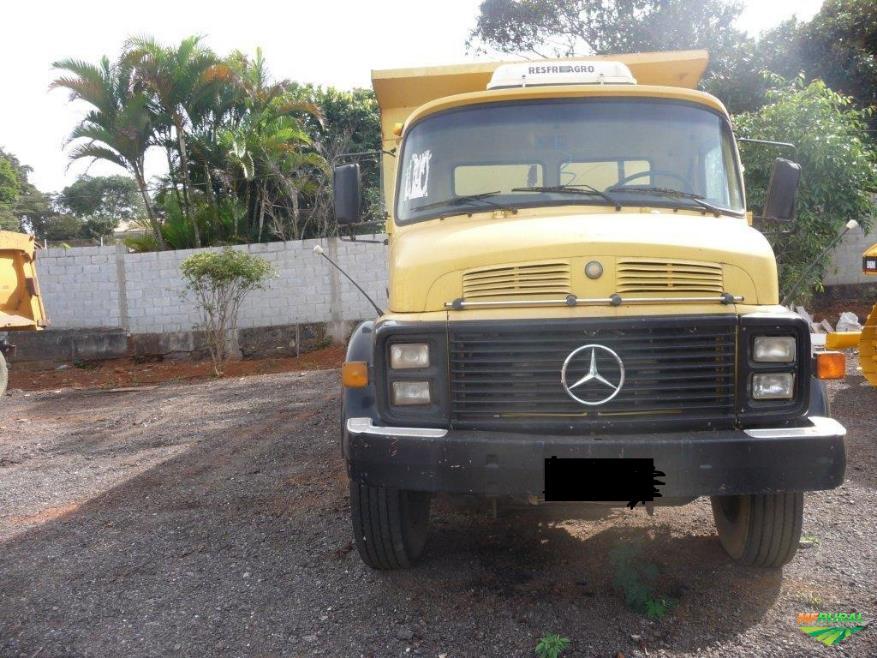 Caminhão Mercedes Benz (MB) 2219 ano 84