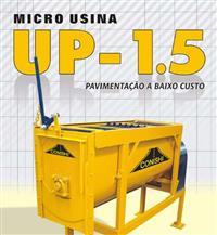 Micro Usina Estacionária de Asfalto / Argamassa / Concreto – UP 1.5