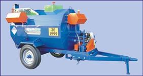Tanque espargidor de asfalto rebocável