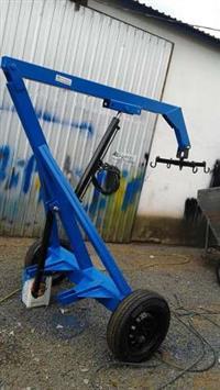 Guincho Hidraulico Big Bag Sobre Rodas 1200 kg