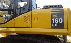 Escavadeira Komatsu PC160 ano 2011 com 1100 horas