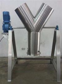 Misturador Y em aço inox  Ideal para misturas de pós, granolas, farinhas em geral, etc..