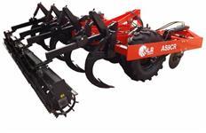 Subsolador de 13 hastes ajustaveis com desarme automatico e controle remoto