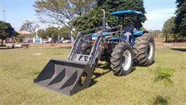 Pá Carregadeira Agrícola Pantografica Bomba Trator 55cv a 75cv
