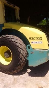 Rolo Compactador    AMMANN ASC100 D + KIT  ano 2011
