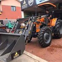 Pá Carregadeira Conjunto dianteiro com pa carregadeira zero para Tratores Agricolas