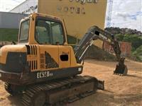 Escavadeira Volvo 2011 modelo EC55B com 4.280