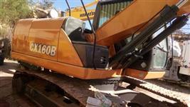 Escavadeira Case Cx 160b ano 2012 motor cummis