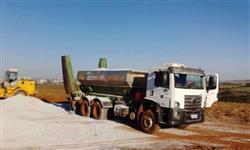 Caminhões para Aplicação de corretivos em Taxa Variável na Agricultura de Precisão.