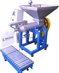 Ensacadeira para fertilizantes e ração de saco valvulado