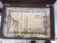 VENDO AGUIA NEGRA 1843 - 27500 BONO N. 1167