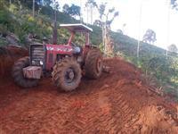 Trator Massey Ferguson 296 4x4 ano 83