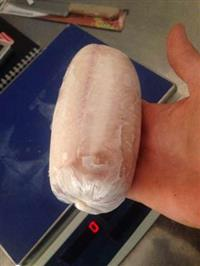 File de tilapia 10,00 o pacote