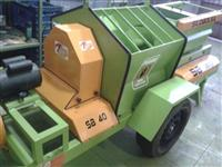 Máquina para prensar e compactar Silagem