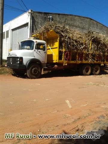 2 Caminhoes para Plantio de cana manual com Balainho