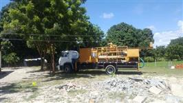 Máquina perfuratriz para poço artesiano