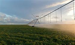Sistema de irrigação por pivô central, rebocavel e linear - Tubos e conexões e motobombas.