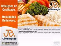 Alimentação Industrial = fornecimento de refeições, manipulação in loco