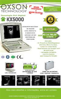 ULTRASSOM KX5000 VET