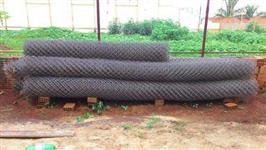 Telas, Alambrado, Cercas, Mourão de concreto, Mourão, Mourão para cerca, alambrado pvc revestido