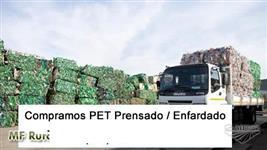 Compro Pet Enfardado/Prensado - Compro Garrafa PET