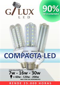 Lâmpada Compacta Led 7w 3u