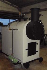 Caldeiras de 50kgv/h  até  20.000kgv/h    cavaco - lenha - oléo - gás
