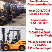 EMPILHADEIRAS: GOODSENSE A DIESEL E ELÉTRICAS!!