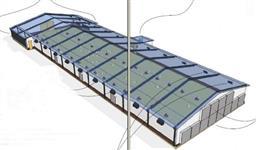 Isolamento termico  para telhados (Silos, armazéns, granjas, etc)