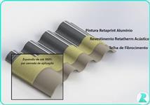 Retatherm - Isolamento termico-acústico para telhados (Silos, armazéns, granjas, etc)