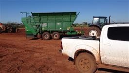 Plantio de Cana de Acucar Mecanizado