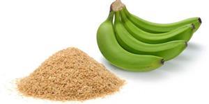 Banana verde desidratada picada ou pó.!