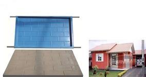 Kit de Formas Pré Moldado Casas Formas Em Fibra E Aço