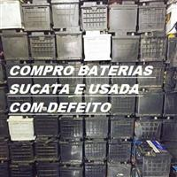 Compro sucatas de baterias carros,motos ,embarcações,caminhão, no break e de aeronaves.