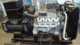 Gerador 500 kva Scania Negrini  manual