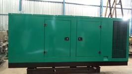 Cabine para geradores 100-150 kva silenciada padrão cummins