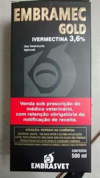 EMBRAMEC GOLD 3,6% IVERMECTINA 500 ML