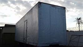 Furgão Baú Alumínio 11.00 X 3.00 X 2.60 C/ Porta lateral