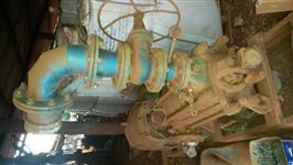 motor e bomba irrigação