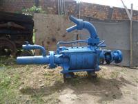 Bomba d´água para irrigação usada com 5 rotores