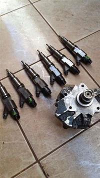 Bomba injetora e unidades Case 8800